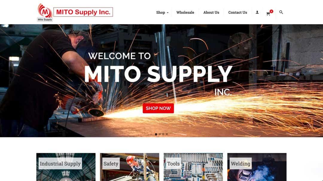 Website Design Birmingham AL | Mito Supply Inc.